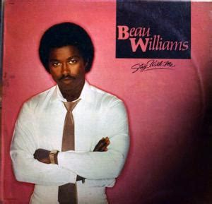 beau williams stay with me lp 1983 album beau williams stay with me capitol records
