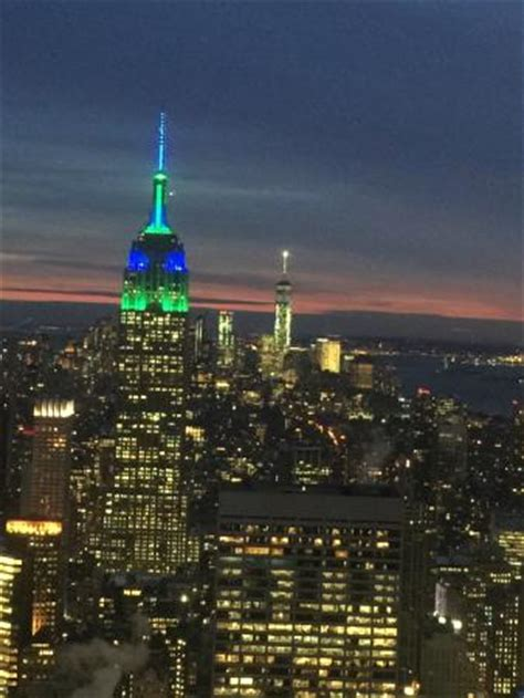 Observation Deck Freedom Tower by Manhattan Di Notte Picture Of Top Of The Rock
