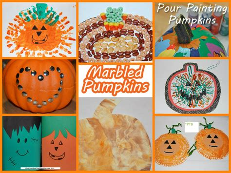 fall themed crafts for fall and pumpkin crafts for preschool the preschool