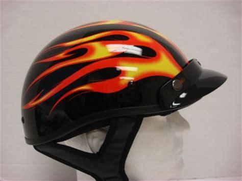 Helm Vino Visor Coklat Glossy s motorcycle biker scooter moped orange half