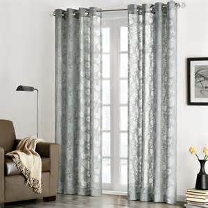 Sheer Printed Curtains Park Chace Burnout Paisley Print Sheer Curtain Panel Contemporary Curtains By