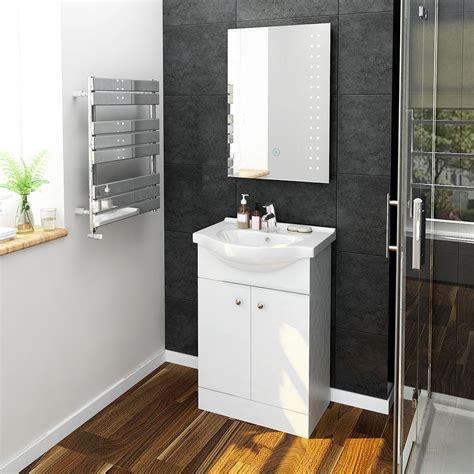 Flat Pack Bathroom Vanity Units by Bathroom Vanity Unit Sink Basin Ceramic Back To Wall