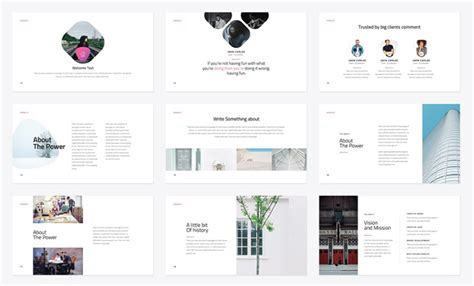 27 Free Company Profile Powerpoint Templates For Presentations Best Powerpoint Templates Free 2017 Minimalist