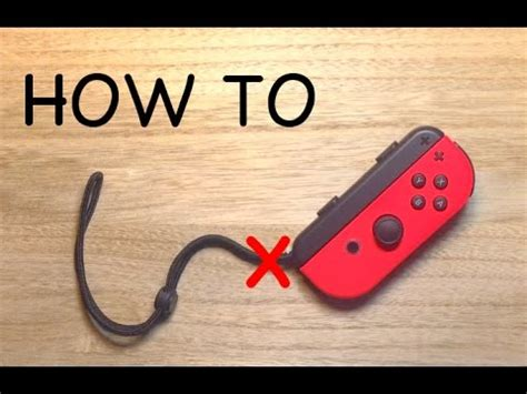 remove wrist strap from joy con | improve 2 player exp