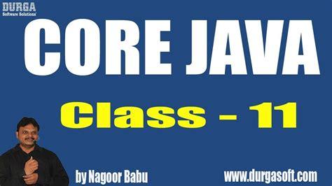 java tutorial by durga sir learn core java programming tutorial online training by