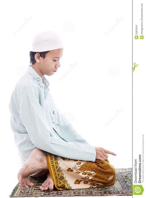 muslim man  praying poses stock image image