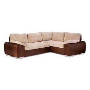 enzo corner sofa 3 seater pull out bed chaise on right