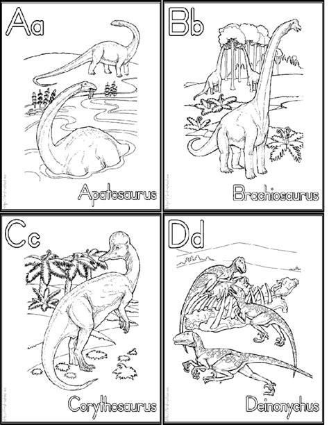 printable dinosaur alphabet dinosaur alphabet coloring flash cards link for whole set