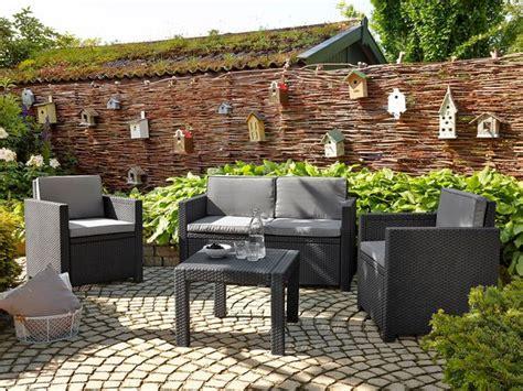 outdoor sitzlounge allibert loungeset lidl ansehen