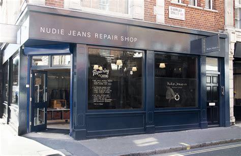 London Cool Shop Find Nudie Jeans Repair Shop Melting | london cool shop find nudie jeans repair shop melting