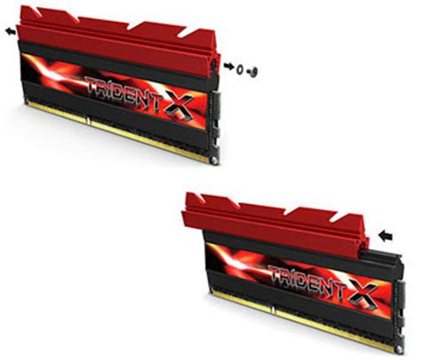 Ram G Skill Trident X Series g skill trident x series 16 go 2 x 8 go ddr3 1600 mhz