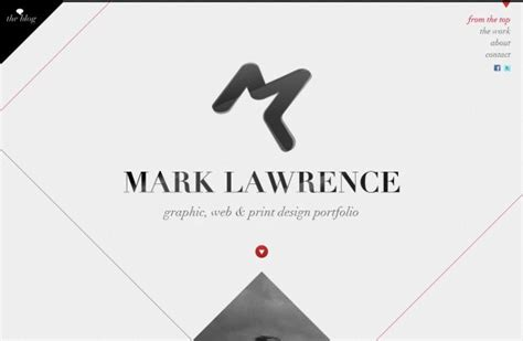 print graphic design inspiration sites mark lawrence portfolio webdesign inspiration www