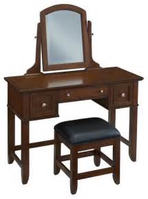 Bedroom Makeup Vanity 2 Pc Vanity Set Contemporary Bedroom Makeup Vanities By Shopladder