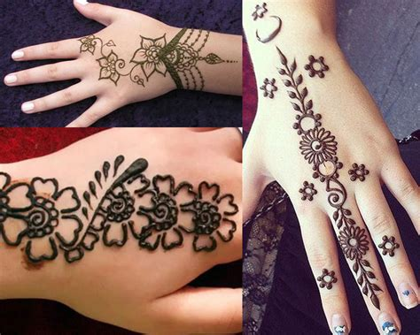 design henna kaki simple 2017 top 50 simple mehndi designs for hands in different