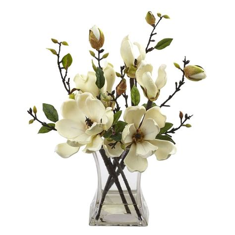 Silk Flower Wedding Centerpiece by 17 Best Ideas About Magnolia Centerpiece On