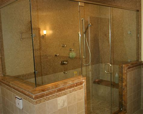 master bath with shower only steam shower custom showers