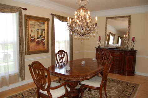 rugs dining room traditional dining room with crystal chandler and oriental