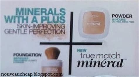 Bedak L Oreal True Match Mineral spotted new l oreal true match min 233 ral foundation and