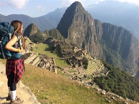 hiking the inca trail to machu picchu prather