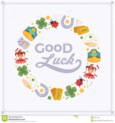 luck greeting card template luck card template free printable goodbye cards