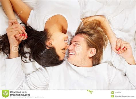 romantic couple in bed images romantic couple royalty free stock images image 19361639