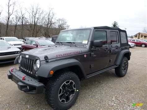 jeep smoky mountain rhino 2016 granite metallic jeep wrangler unlimited