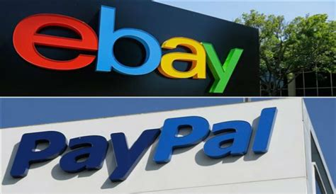 ebay news paypal ebay break up after 15 years shares fall