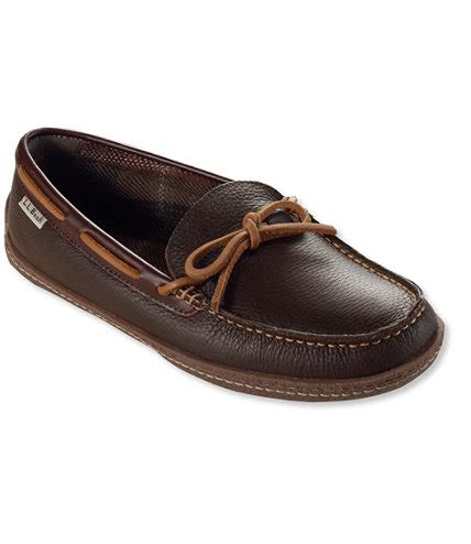 ll bean mens slippers s handsewn slippers flannel lined