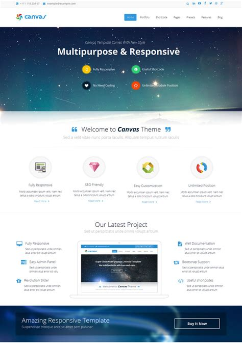 20 latest best responsive joomla themes