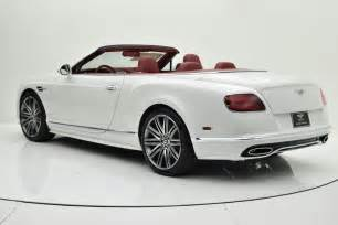 Bentley Gt Speed Convertible Price 2016 Bentley Continental Gt Speed W12 Convertible