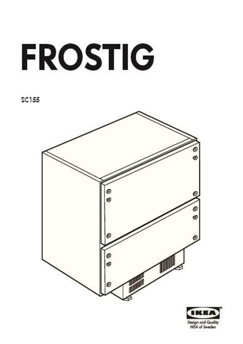 Refrigerateur Tiroir by Frostig Sc155 R 233 Frig 233 Rateur 2 Tiroirs Blanc Ikea