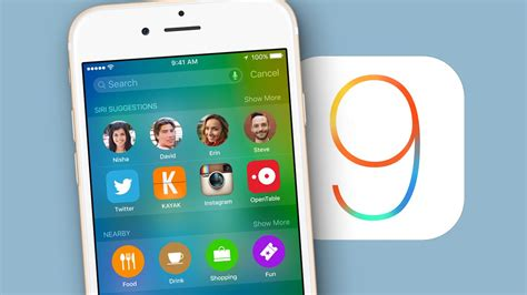 iphone layout ios 9 ios 9 download and install on iphone ipad and ipad mini