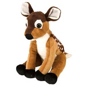 plush deer fawn 12 inch stuffed animal cuddlekin by wild