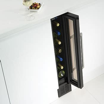 small under cabinet wine fridge thin wine cooler by caple