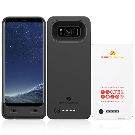 Samsung S8 3 zerolemon releases battery cases for the samsung galaxy s8