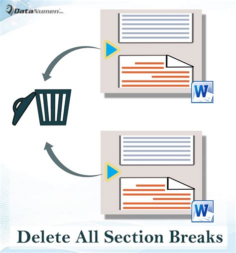 delete section breaks in word 3 ways to quickly delete all section breaks in your word