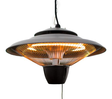patio heater bulbs 1 5kw hanging ceiling halogen bulb infrared electric patio heater in grey by firefly 163 54 99