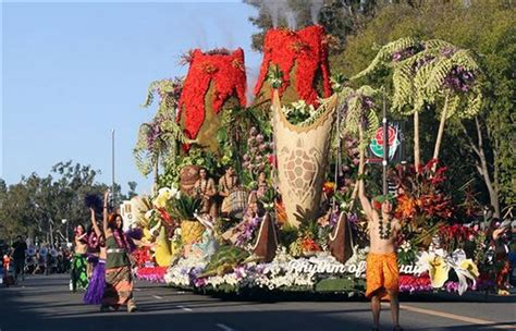 Hawaii Sweepstakes 2015 - photo gallery the rose bowl parade showcases flower floats the kansas city star