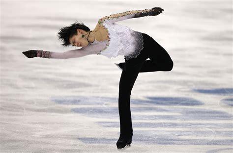 olympuc male skaters 80s yuzuru hanyu of japan competes in the men s free skate