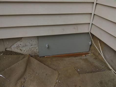 Insulated Crawl Space Door by Everlast Crawl Space Door