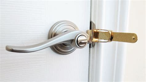 bedroom door lock portable door locks alarms for travel