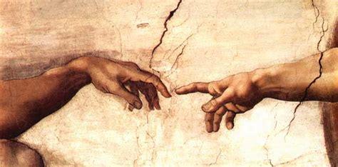 Sistine Chapel Ceiling Adam And God by Michelangelo 171 Renewal Dynamics Regent School