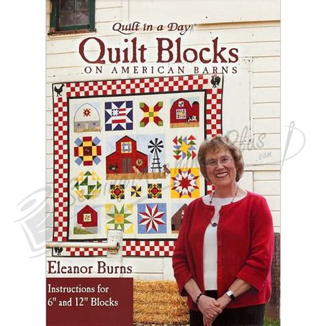 Eleanor Burns Quilting Books by Quilt In A Day Quilt Blocks On American Barns By Eleanor