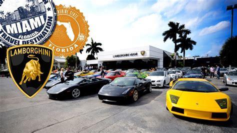 Lamborghini Dealership Miami Lamborghini Miami Maior Revendedor De Lamborghinis Dos
