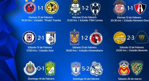 Calendario De Liguilla Mexicana 2015 Search Results For Liguilla Mexicana 2016 Resultados