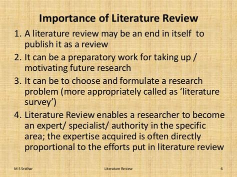 Research Methods Review Of Literature by What Is The Importance Of Literature Review Page 2