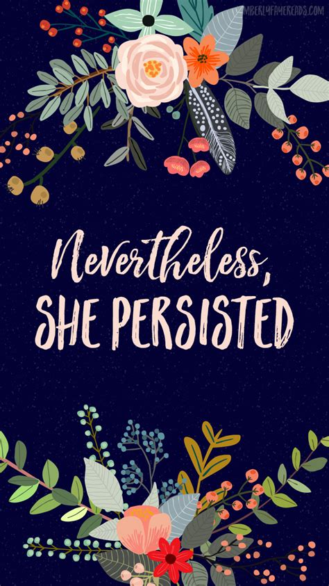 wallpaper pinterest quotes free nevertheless she persisted iphone wallpaper