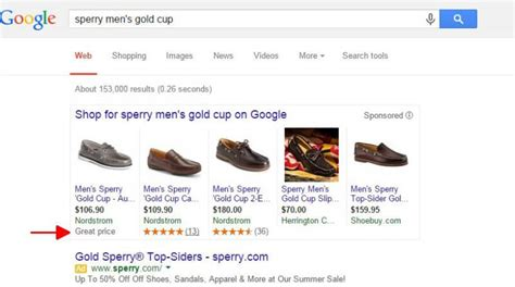 great price messaging spotted  google shopping ads search engine land
