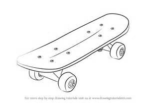 draw deck learn how to draw skateboard skateboarding step by step