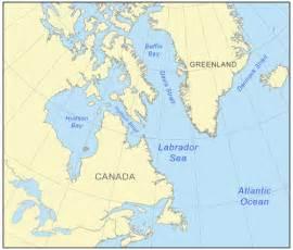 Labrador Canada Map by Gallery For Gt Labrador Sea Map